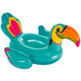 Schwimmtier Toucan Ride - On - Multicolor, MODERN, Kunststoff (150/207cm) - Bestway