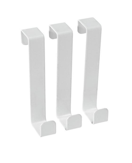 Haken Lackiert 8,5 cm - Chromfarben/Beige, KONVENTIONELL, Metall (8cm) - Homeware