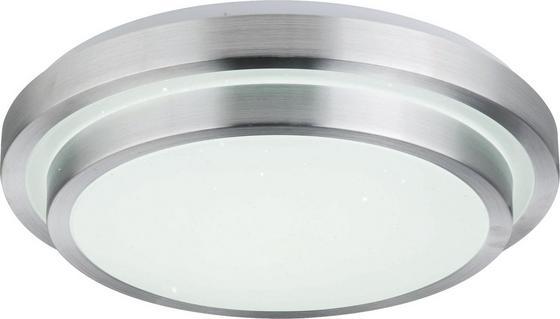LED-Deckenleuchte Sonja - Opal/Weiß, MODERN, Kunststoff/Metall (41/10,5cm)