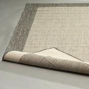 Flachwebeteppich Brüssel 80/200 - Grau, MODERN, Textil (80/200cm)