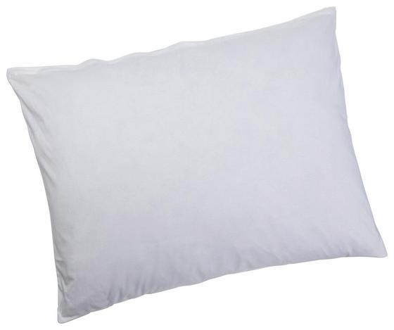 Kissenhülle Antoinette 70x90 cm - Weiß, KONVENTIONELL, Textil (70/90cm) - Ombra