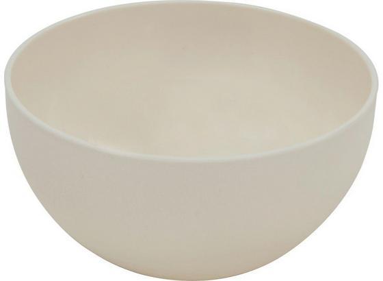 Kunststoff-Schüssel Gutja, 2,5 Liter - Creme, KONVENTIONELL, Kunststoff (20,5/10,5cm) - James Wood