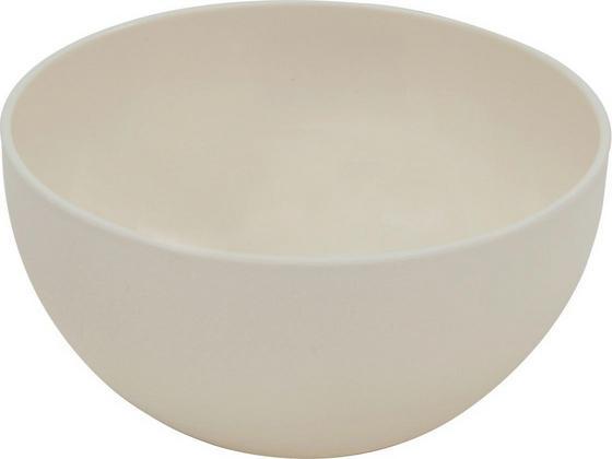 Kunststoff-Schüssel Gutja - Creme, KONVENTIONELL, Kunststoff (20,5/10,5cm) - James Wood