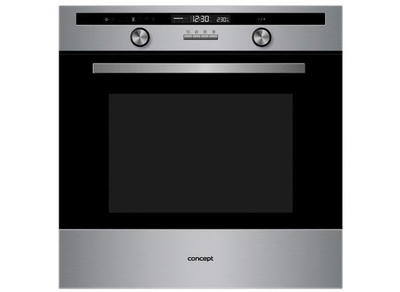 Vestavná Trouba Etv7160 - černá, Basics, kov/sklo (59,5/59,5/55,5cm) - Concept