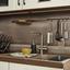 Eckküche Ip3050 - Hellgrau, Design, Holzwerkstoff (320/185cm) - Impuls