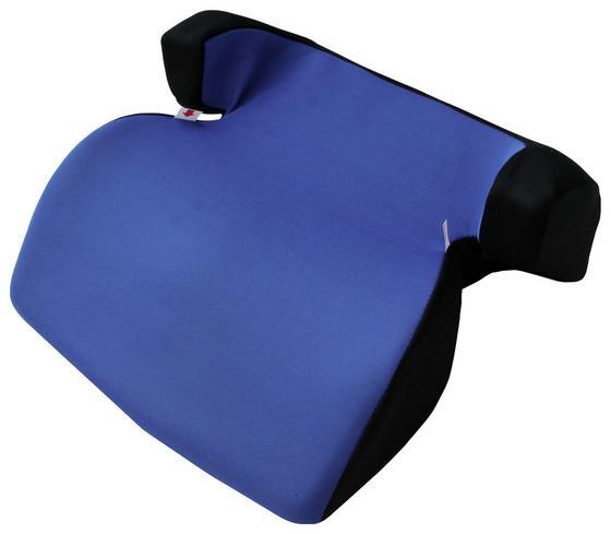 Kinderautositz Techno Booster - Blau/Anthrazit, KONVENTIONELL, Kunststoff/Textil (40/36/17cm)