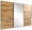 Schwebetürenschrank Level 36a 300cm Eiche Dekor - Eichefarben, MODERN, Holzwerkstoff (300/216/65cm)
