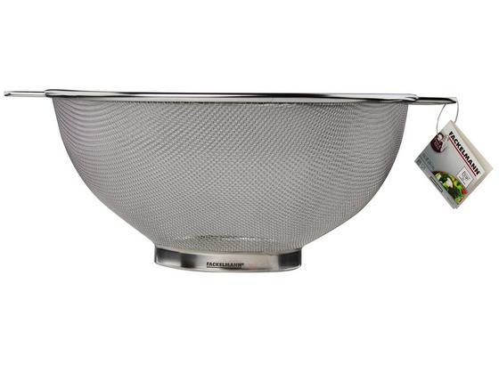 Küchensieb Ludmilla - Edelstahlfarben, KONVENTIONELL, Metall (26cm) - Fackelmann