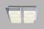 LED-Deckenleuchte Luise - Chromfarben, MODERN, Kunststoff/Metall (35/35/9,6cm)