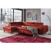 Sedací Souprava Presidente - barva třešeň/červená, Moderní, textil (206/262cm)