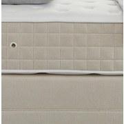 Boxspringbett mit Kontinental Matratze 180x200 Domino - Beige, KONVENTIONELL, Holz (180/200cm) - James Wood