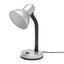 Lampa Na Písací Stôl Leona, Max. 40 Watt - strieborná, kov/plast (12,5/34/18,5cm) - Based