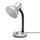 Lampa Na Psací Stůl Leona, Max. 40 Watt - barvy stříbra, kov/umělá hmota (12,5/34/18,5cm) - Based