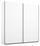 Schwebetürenschrank Belluno 181 cm Weiß - Weiß, MODERN, Holzwerkstoff (181/210/62cm)