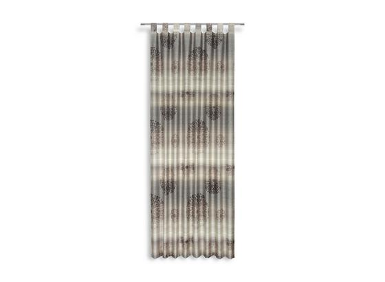 Kombivorhang Jorina - Braun, KONVENTIONELL, Textil (140/255cm) - Luca Bessoni