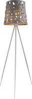 Stehleuchte Salvador - Grau, MODERN, Papier/Kunststoff (69,5/156cm)