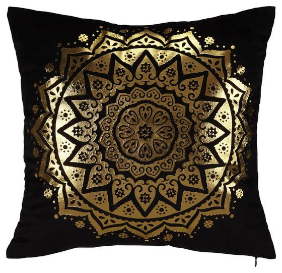 Polštář Ozdobný Marokko - černá, Lifestyle, textil (45/45cm) - Mömax modern living