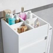 Skřiňka Basic - bílá, Moderní, dřevěný materiál (30/85/30cm) - MODERN LIVING