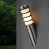 Vonkajšie Osvetlenie Dakota - farby nerezovej ocele, Moderný, umelá hmota/kov (11,6/40cm) - MÖMAX modern living