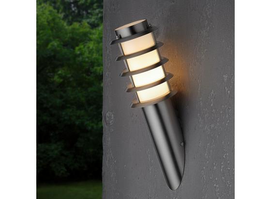 Vonkajšie Osvetlenie Dakota - farby ušľachtilej ocele, Moderný, kov/plast (11,6/40cm) - Mömax modern living