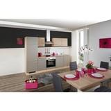 Küchenleerblock Riva B: 270cm Eiche/Champagner - Champagner/Eichefarben, MODERN, Holzwerkstoff (270cm) - MID.YOU