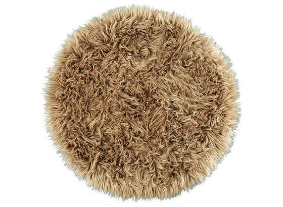 Umelá Kožušina Teddy 1 - taupe, textil (80cm) - Mömax modern living