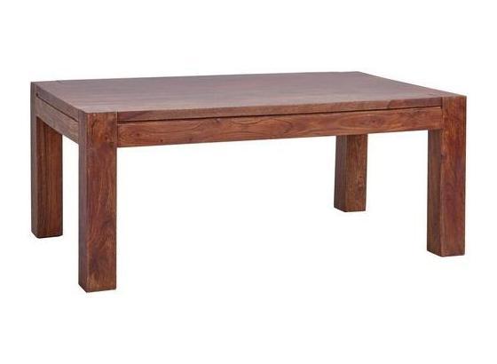 Couchtisch Holz Massiv Raidak, Braun - Braun, Basics, Holz (110/45/65cm) - Livetastic