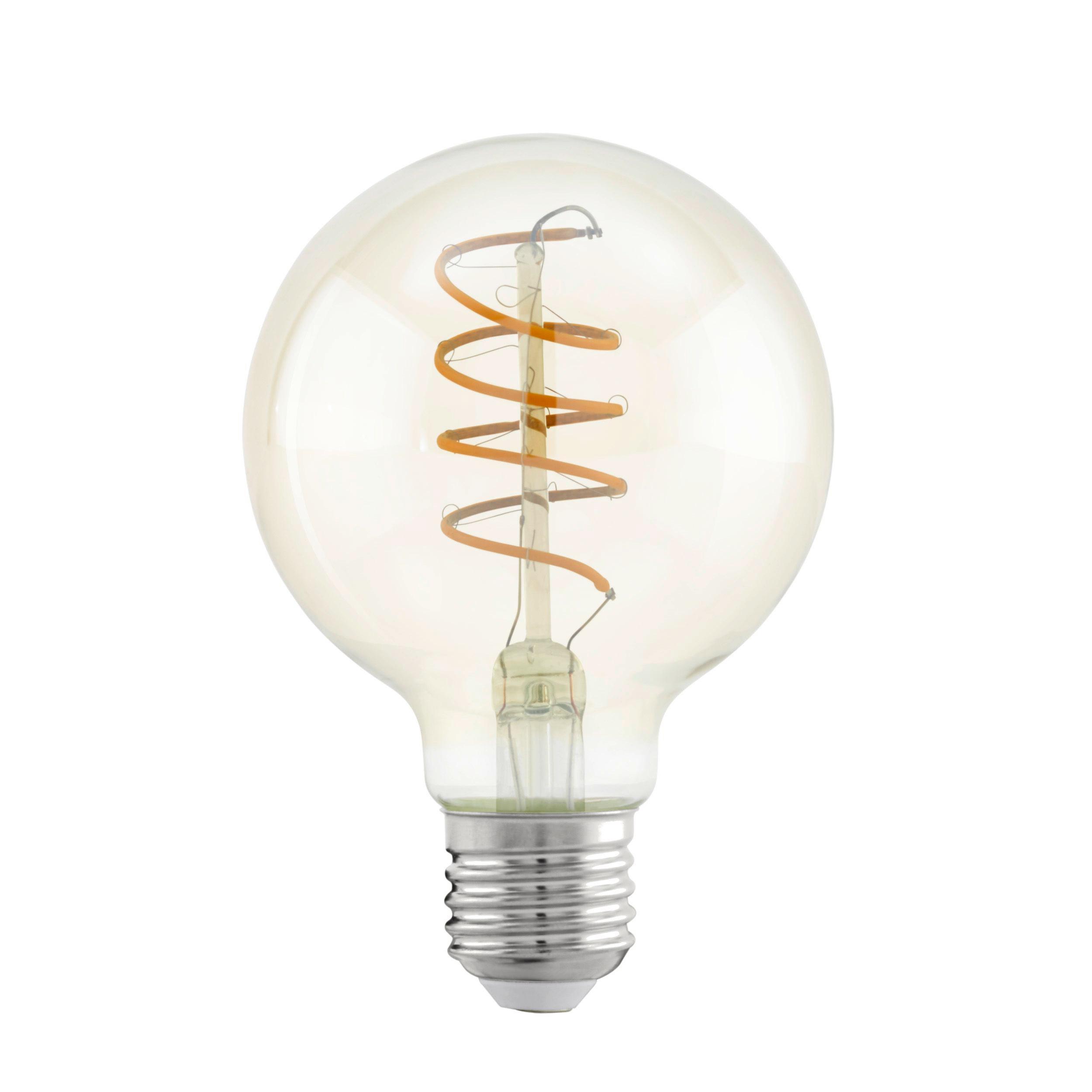 LED Leuchtmittel 11722 warmweiß Amber Globe Spiral