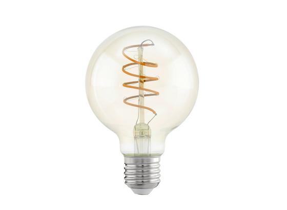 LED-Leuchtmittel 4 W 2200 K 260 lm - Klar, Basics, Glas (12cm)