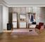 Komoda Malta - bílá/barvy dubu, Moderní, kompozitní dřevo (95/98,7/36cm)