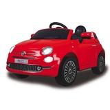 Kinderauto Ride-On Fiat 500 Rot - Rot/Silberfarben, Basics, Kunststoff (112/65/50cm)