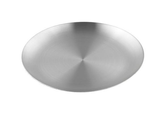 Tanier Na Sviečky Aurora - strieborná, kov (12/1,2cm) - Mömax modern living