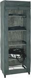 Szekrény Lamos - Alu, modern, Műanyag/Fém (60/173/50cm)