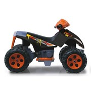 Ride-On Quad Pico Orange - Schwarz/Orange, Basics, Kunststoff (77/53/52cm)