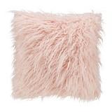 Zierkissen Hairy - Rosa, MODERN, Textil (50/50cm) - Luca Bessoni