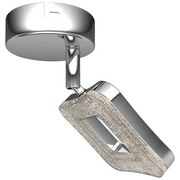 LED-Strahler Amelie - Chromfarben, MODERN, Kunststoff/Metall (14,5cm) - Luca Bessoni