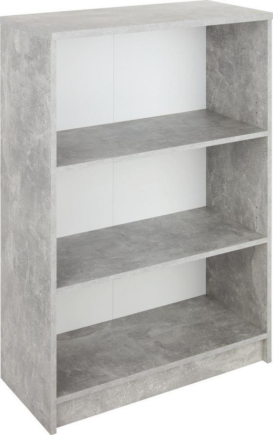 Regal 4-You New YUR02 - Schwarz/Weiß, MODERN, Holzwerkstoff (74/111,5/34,6cm)