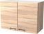 Kuchyňská Horní Skříňka Samoa  H 80 - bílá/barvy dubu, Konvenční, dřevěný materiál (80/54/32cm)