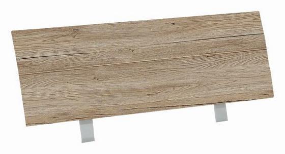 Záhlaví Belia - barvy dubu, Konvenční, dřevo (127cm)