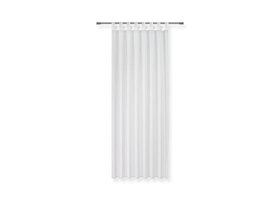 Záves S Pútkami Cenový Trhák - biela, textil (140/245cm) - Based