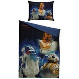 Bettwäsche Star Wars - Blau, LIFESTYLE, Textil - Disney