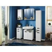 Waschbeckenunterschrank Cadiz B: 59,8 cm Weiß - Weiß, MODERN, Holzwerkstoff (59,8/63,4/32,6cm) - MID.YOU
