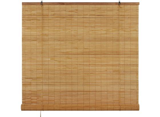 Roleta Woody, 100/180cm, Hnedá - hnedá, Štýlový, drevo (100/180cm) - Mömax modern living