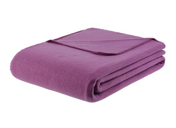 Fleecová Deka Trendix -top- - šeříková, textil (130/180cm) - Mömax modern living