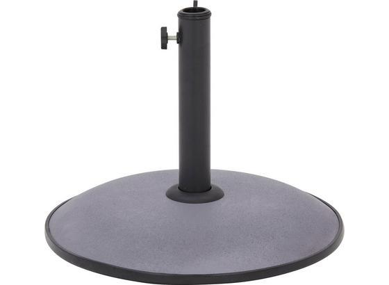Stojan Na Slunečník Riom - antracitová, Moderní, kov/kámen (45/33cm) - Mömax modern living