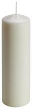 Stumpenkerze Fumia - Naturfarben, KONVENTIONELL (7/22cm) - Ombra