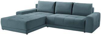 Wohnlandschaft L-form Adria 213x308cm - Hellblau, MODERN, Textil (213/308cm) - Luca Bessoni