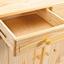 Kredenz Alicante B: 88 cm Kiefer - Naturfarben, LIFESTYLE, Holz (88/198/43cm) - Carryhome