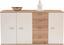 Komoda Graz Xr05 - farby dubu/biela, Moderný, drevený materiál (155/82,4/35,5cm)