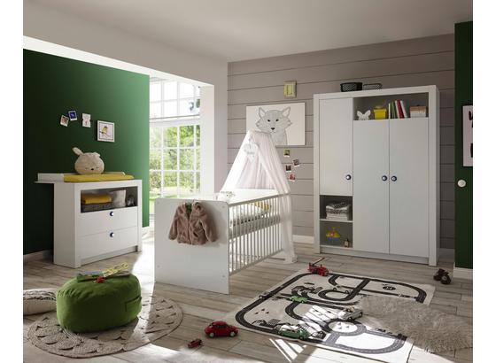 Detská Izba Paula - biela, Moderný, kompozitné drevo